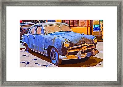 Forlorn 1949 Ford  Framed Print