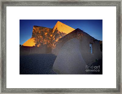 Form And Shadow--san Francisco De Asis - Color Framed Print