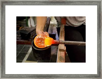 Framed Print featuring the photograph Form by Paul Indigo