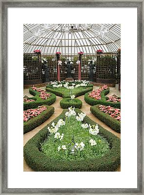 Formal Gardens Phipps Conservatory Framed Print