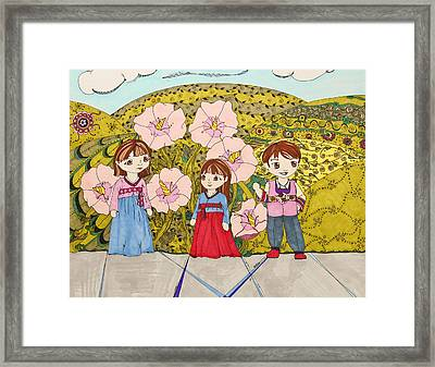 Formalities Framed Print