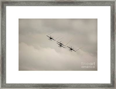 Formation Flying Framed Print