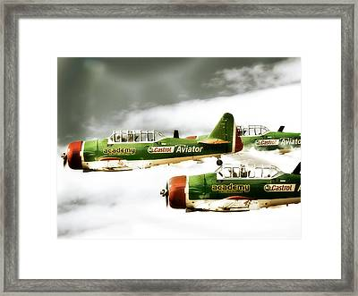 Formation  Framed Print by Paul Job