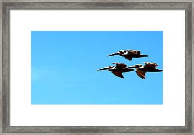 Formation Framed Print
