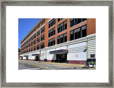 Former Penn Traffic Bldg - Johnstown Pa Framed Print