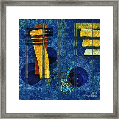 Formes - 0101rgnlbl Framed Print by Variance Collections