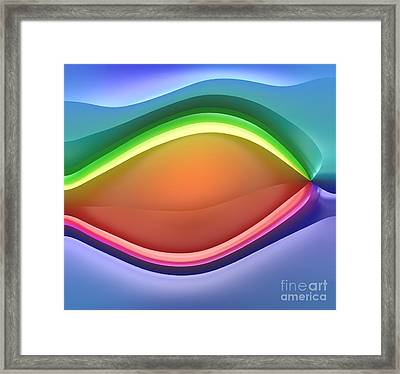 Formes Lascives - 814 Framed Print by Variance Collections
