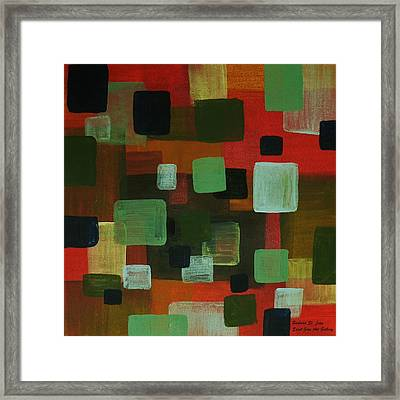 Forms Framed Print by Barbara St Jean