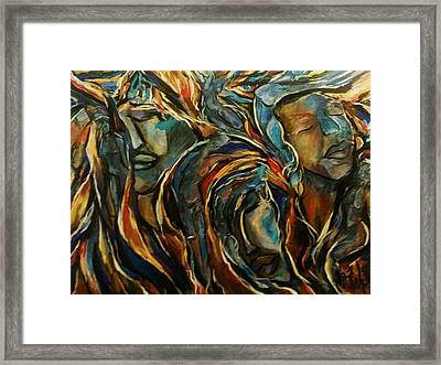 Forms Of Beauty Framed Print