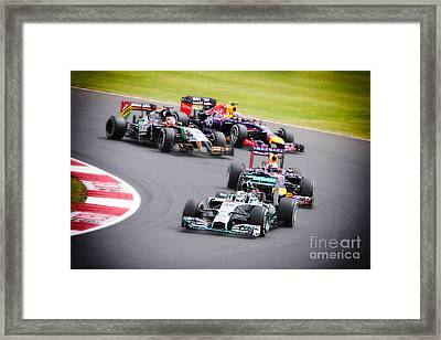 Formula 1 Grand Prix Silverstone Framed Print