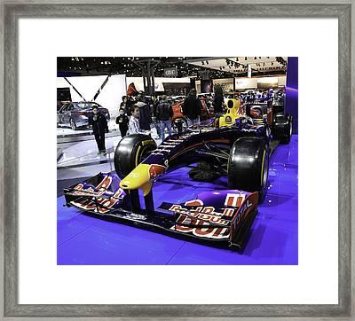 Formula One Race Car Framed Print by E Osmanoglu