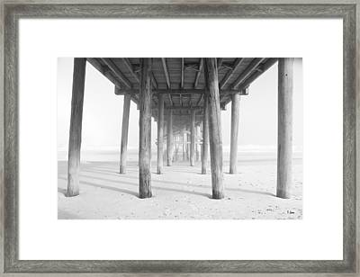 Forrest Framed Print by Thomas Leon