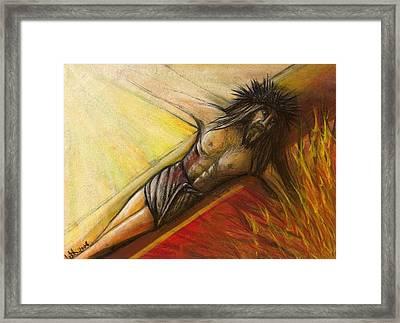 Psalm 22 Forsaken Framed Print