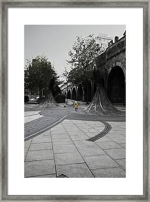 Forster Square Framed Print by Riley Handforth