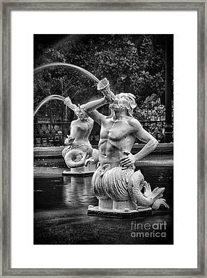 Forsyth Park Fountain 1 Framed Print