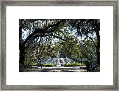 Forsythe Park Framed Print by Diana Powell