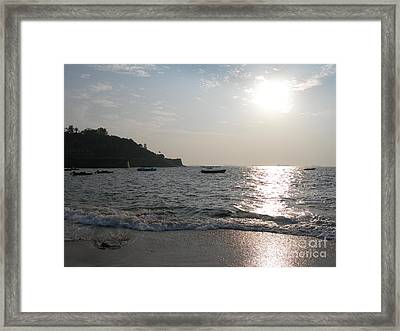 Fort Aguada Beach Framed Print