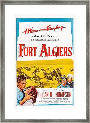 Fort Algiers, L-r Carlos Thompson Framed Print by Everett