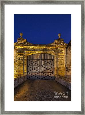 Framed Print featuring the photograph Fort Castillo San Cristobal Inpuerto Rico by Bryan Mullennix