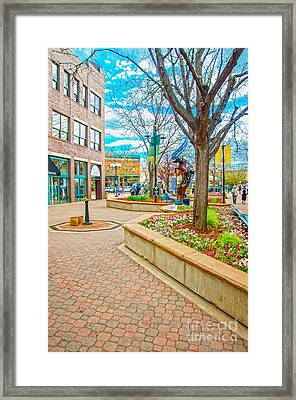 Fort Collins 3 Framed Print by Baywest Imaging