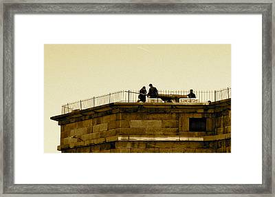 Fort Delaware Cleaning Crew Framed Print