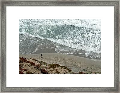 Fort Funston Beach Framed Print