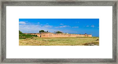 Fort Gaines On Dauphin Island, Alabama Framed Print by Panoramic Images