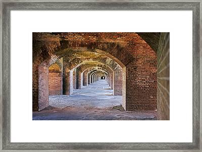 Fort Jefferson Framed Print by Buddy Mays