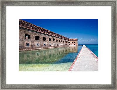 Fort Jefferson Dry Tortugas Framed Print by Tim Dahl