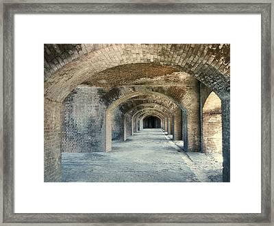 Fort Jefferson Dry Tortugas Framed Print
