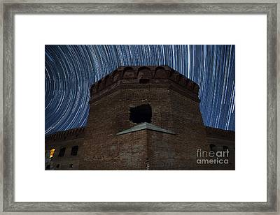 Fort Jefferson Nights Framed Print by Keith Kapple