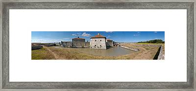 Fort Lupin, Saint-nazaire-sur-charente Framed Print by Panoramic Images