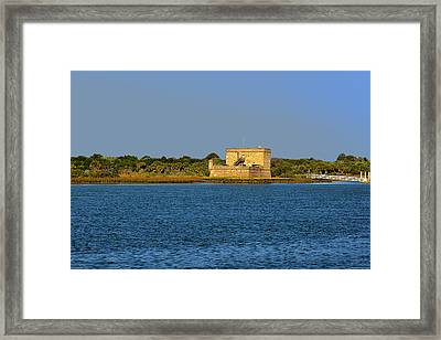 Fort Matanzas - Saint Augustine Florida Framed Print by Christine Till
