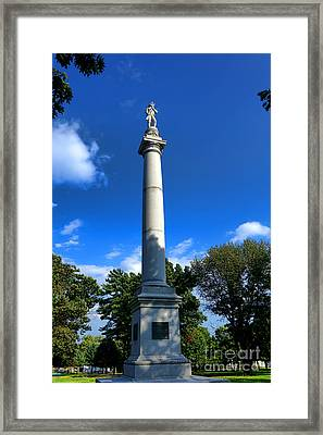 Fort Mercer Monument Framed Print by Olivier Le Queinec