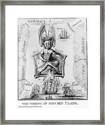 Fort Mifflin, 1777 Framed Print by Granger