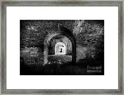 Fort Morgan Framed Print