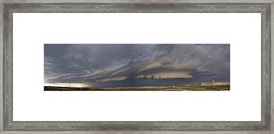 Fort Morgan Pano Framed Print