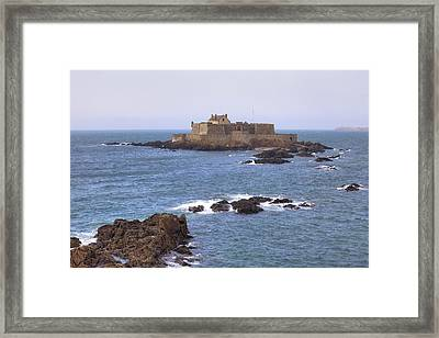 Fort National - Saint-malo Framed Print by Joana Kruse