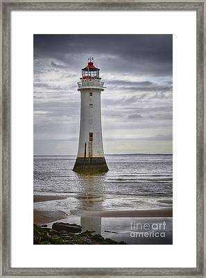 Fort Perch Lighthouse Framed Print