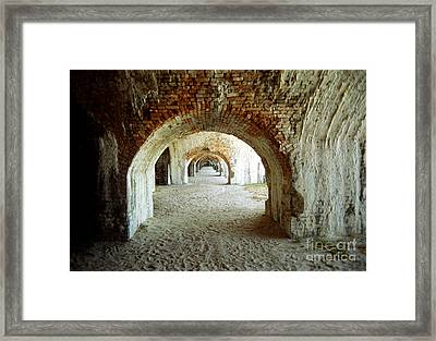 Fort Pickens Arches Framed Print