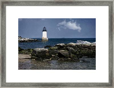 Fort Pickering Light Framed Print