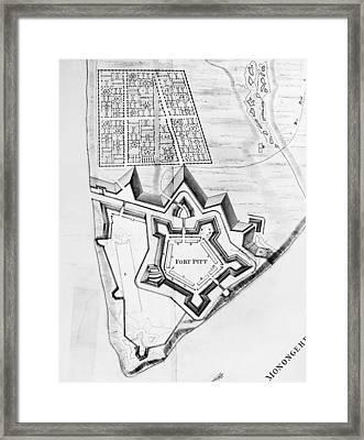Fort Pitt, 1761 Framed Print by Granger