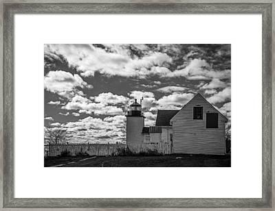 Fort Point Lighthouse Framed Print
