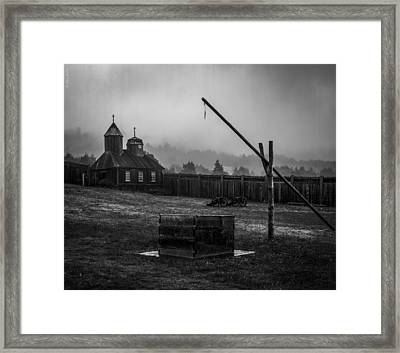 Fort Ross Framed Print