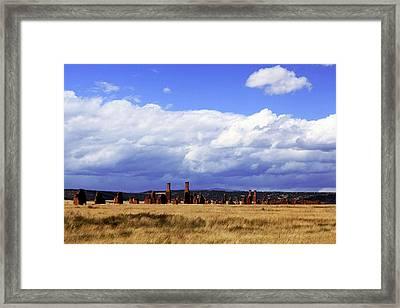 Fort Ruins Framed Print by Jim Buchanan