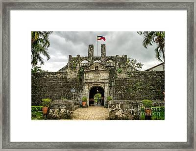 Fort San Pedro Framed Print by Adrian Evans
