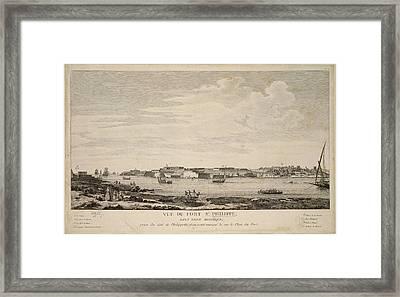 Fort St. Philippe Framed Print