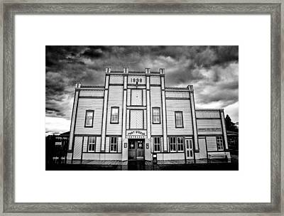 Fort Steele Framed Print by Starlux  Productions