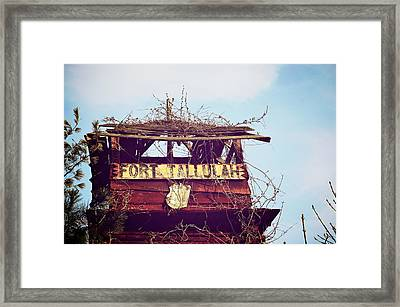 Fort Tallulah Framed Print by Brandon Addis