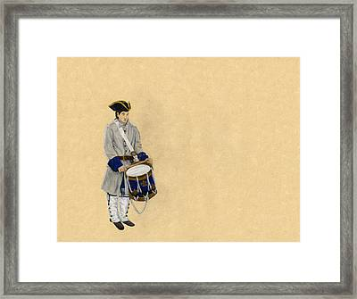 Fort Toulouse Drummer Boy Framed Print by Beth Parrish